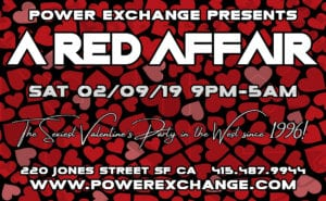 A Red Affair @ Power Exchange | San Francisco | California | United States