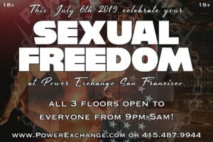 Sexual Freedom Saturday @ Power Exchange | San Francisco | California | United States